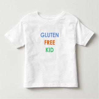 Camiseta celiaca libre del niño del gluten camisas