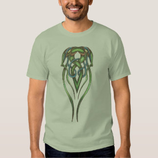 Camiseta céltica de la serpiente playeras