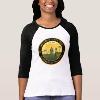 Camiseta centenaria de Grenora de la manga del Remeras