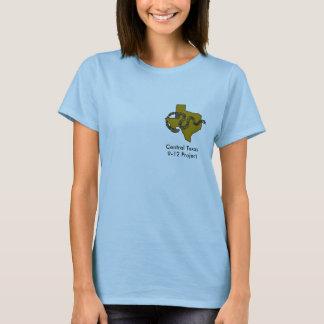 Camiseta central de Tejas 9-12 (mujer)