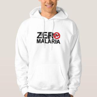 Camiseta cero de la malaria pulóver con capucha
