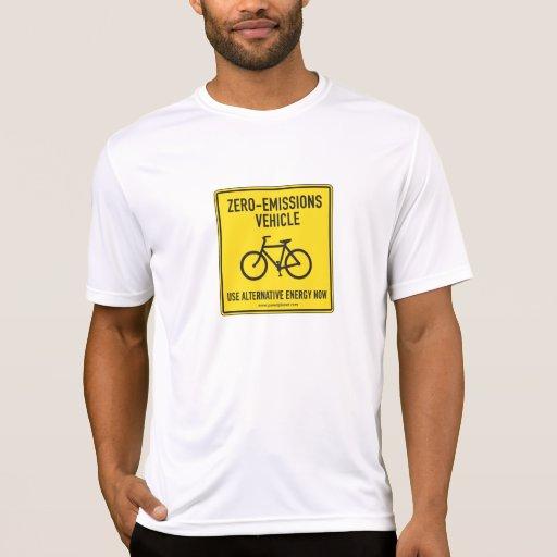 Camiseta cero de las emisiones