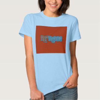 camiseta chica celeste frontal poleras