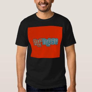Camiseta chico negra frontal remera
