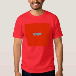 Camiseta chico roja frontal playeras