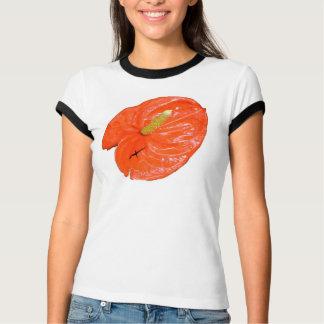 Camiseta china abigarrada del campanero de la