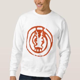 Camiseta china abstracta del símbolo del dragón suéter