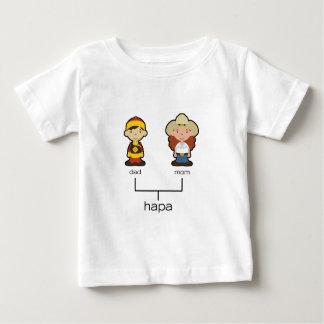 Camiseta china/del americano de Hapa del bebé de Playera Para Bebé