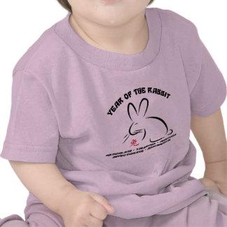 Camiseta china del conejo del Año Nuevo