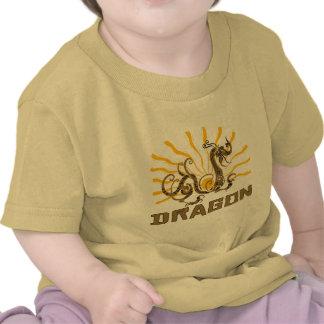 Camiseta china del dragón del zodiaco del dragón c