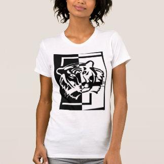 Camiseta china del tigre camisas
