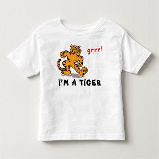 Camiseta china divertida del tigre del zodiaco playera de niño