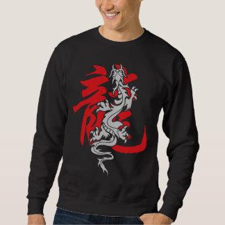 Camiseta china oriental asiática del dragón del sudadera