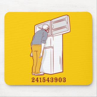 camiseta chistosa del congelador principal 2415439 alfombrillas de ratón