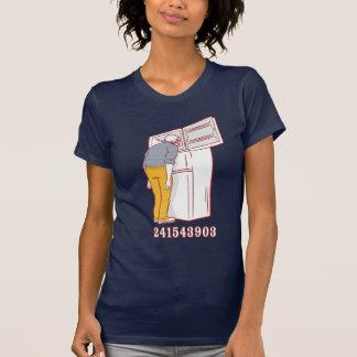 camiseta chistosa del congelador principal playeras
