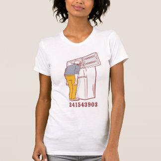 camiseta chistosa del congelador principal remera