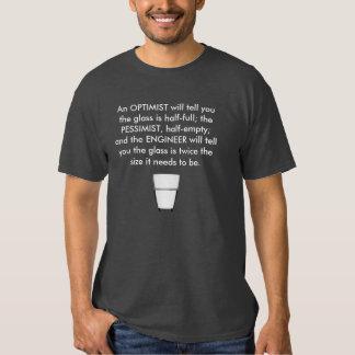 Camiseta chistosa del gráfico del ingeniero remera
