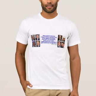 Camiseta - cita de Federico Bastiat en PILLAJE