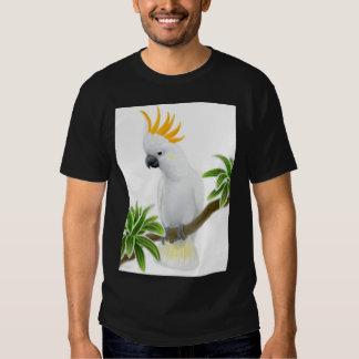 Camiseta cítrica de la oscuridad del Cockatoo Playeras