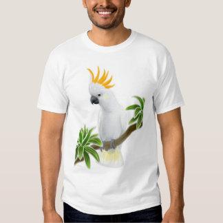 Camiseta cítrica del Cockatoo Playeras