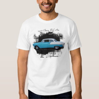 Camiseta clásica 1955 del coche del Aire del belio Remera