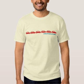 Camiseta clásica de la evolución mini playeras