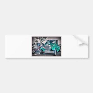 Camiseta clásica de la imagen de la foto de la cam pegatina de parachoque