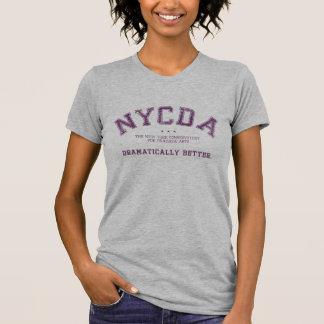 Camiseta clásica de la luz de las mujeres de NYCDA