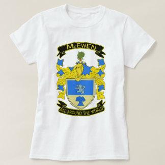 Camiseta clásica de la muñeca del escudo de McEwen
