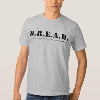 Camiseta clásica de la tarjeta de D.R.E.A.D. Playeras