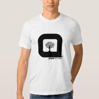 Camiseta clásica del árbol de familia de Pryor Playeras