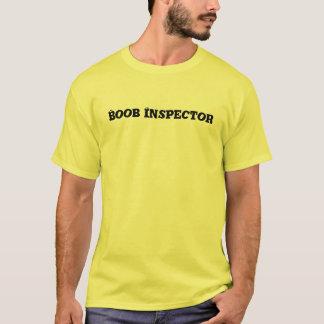 Camiseta clásica del inspector del Boob