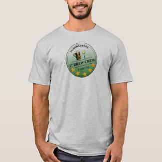 Camiseta clásica del logotipo del equipo del Brew