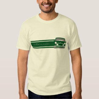 Camiseta clásica verde de Mini Cooper Playera