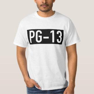 Camiseta clasificada PG-13 Remeras