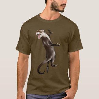 Camiseta colgante del hurón