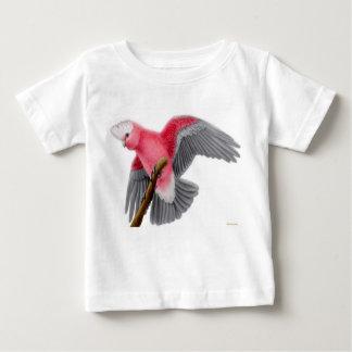 Camiseta color de rosa del niño del Cockatoo de Polera