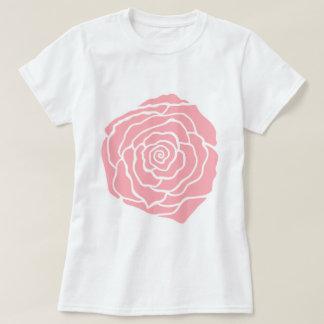 Camiseta color de rosa poleras