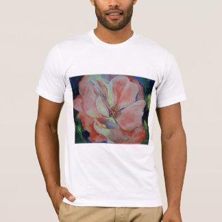 Camiseta color de rosa salvaje