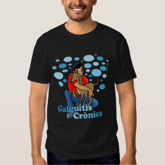 Camiseta color hombre - Galguitis Crónica Playeras