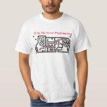 "Camiseta Colorando ""Engenharia"" Camisas"