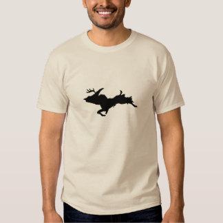 Camiseta coloreada arena superior de la caza de poleras
