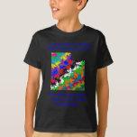 Camiseta colorida adaptable de la elección de Utah