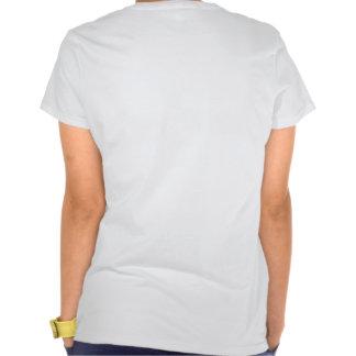 Camiseta colorida de la luz del automóvil del vint