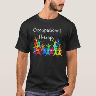 Camiseta colorida de la terapia profesional