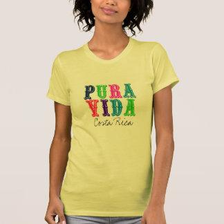 Camiseta colorida de Pura Vida Costa Rica de las