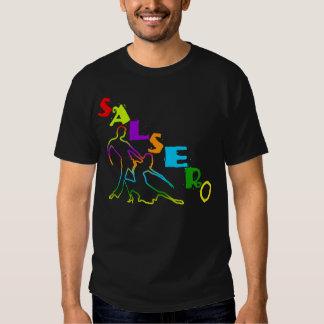 Camiseta colorida de SALSERO con los pares del Remera