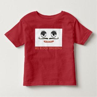 Camiseta colorida del niño del día de BBSS Playera