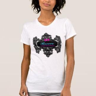 Camiseta colorida del país de las maravillas rococ