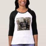 """camiseta com manga 3/4 """"Tous les jours"""" femin."""